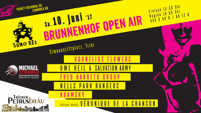 Sumo Rex Brunnenhof Open Air 2017
